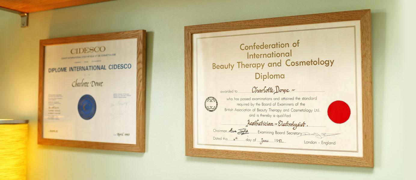 CIDESCO and CIBTAC qualified